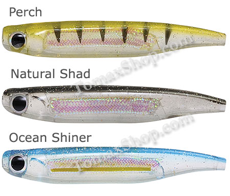 RAPTURE POWER MINNOW CURLY TAIL, силиконови рибки
