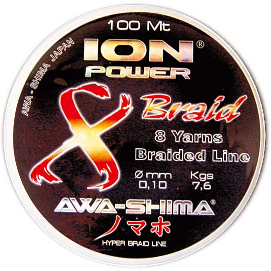 ION POWER 8 BRAID DYNEEMA 100m. 0.18, ������� ������