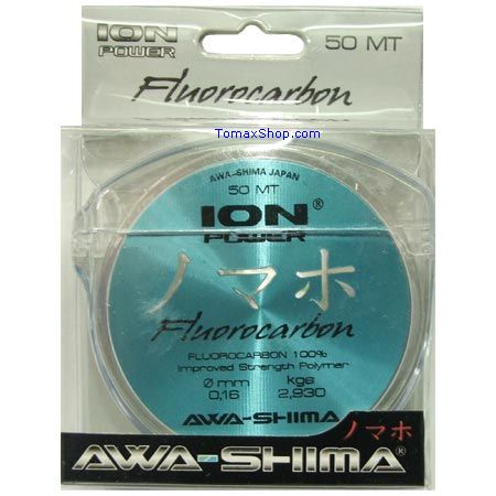 ION POWER FLUOROCARBON 50m. 0.18, влакно