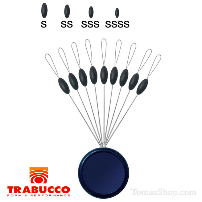 TRABUCCO OVAL RUBBER STOPPER, стопери