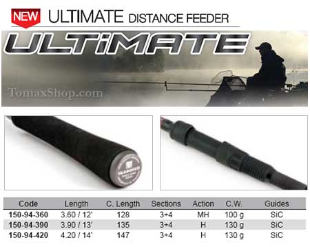TRABUCCO ULTIMATE DISTANCE FEEDER, фидер въдица