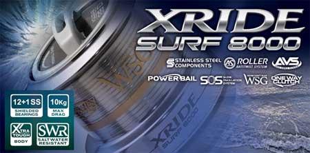 X-RIDE SURF 8000 - технически характеристики