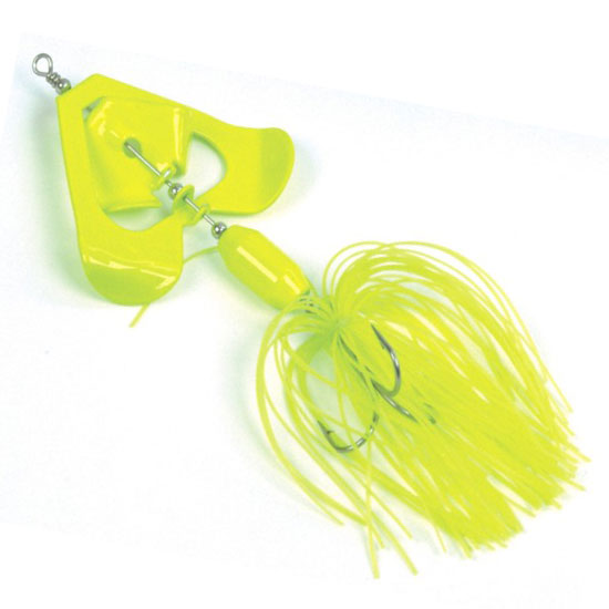 ALPHA ROTOSPINNER YELLOW FLUO, 20 гр., блесна
